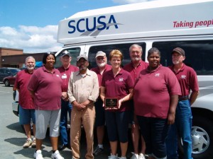 SCUSA IS RECOGNIZED FOR SAFETY