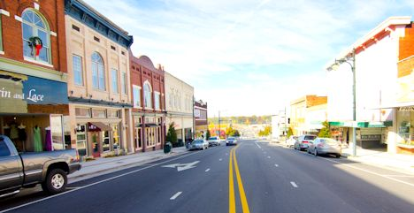 Downtown Albemarle